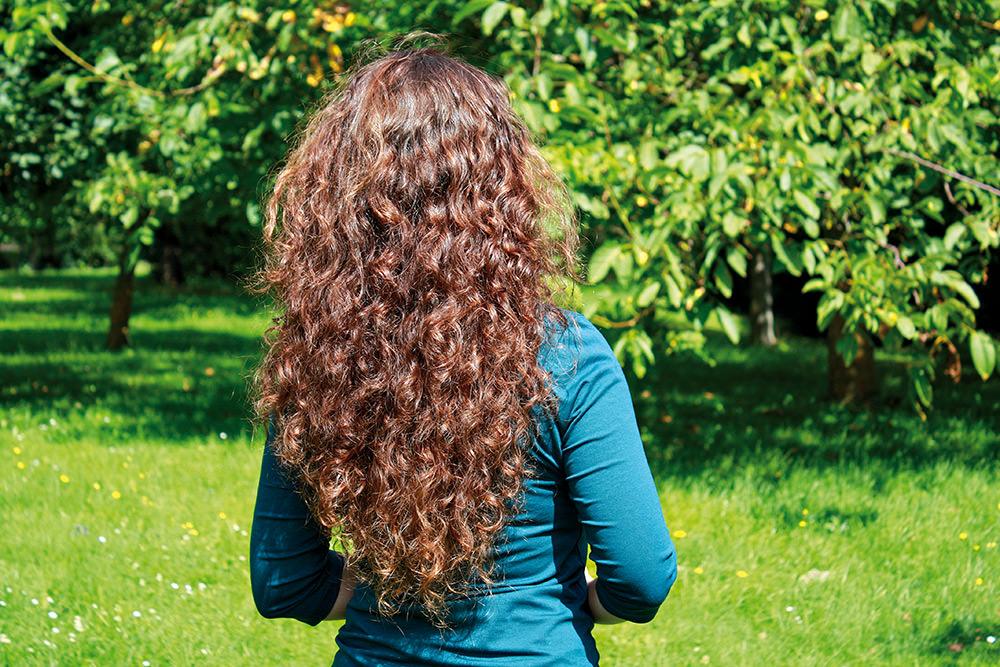 Anwendung für die Haarzusatzpflege