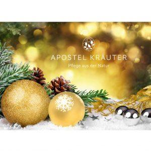 Gutschein-Weihnachtsdeko