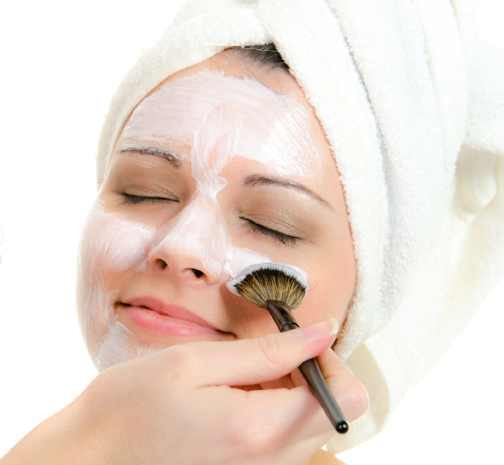 Aloe Repaircreme als Gesichtsmaske